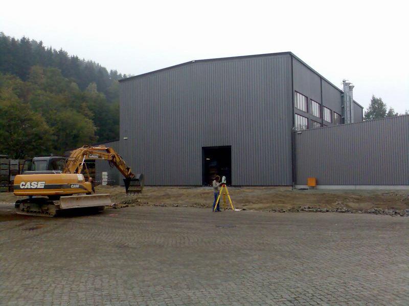 Gewerbebau - Hallenerweiterung