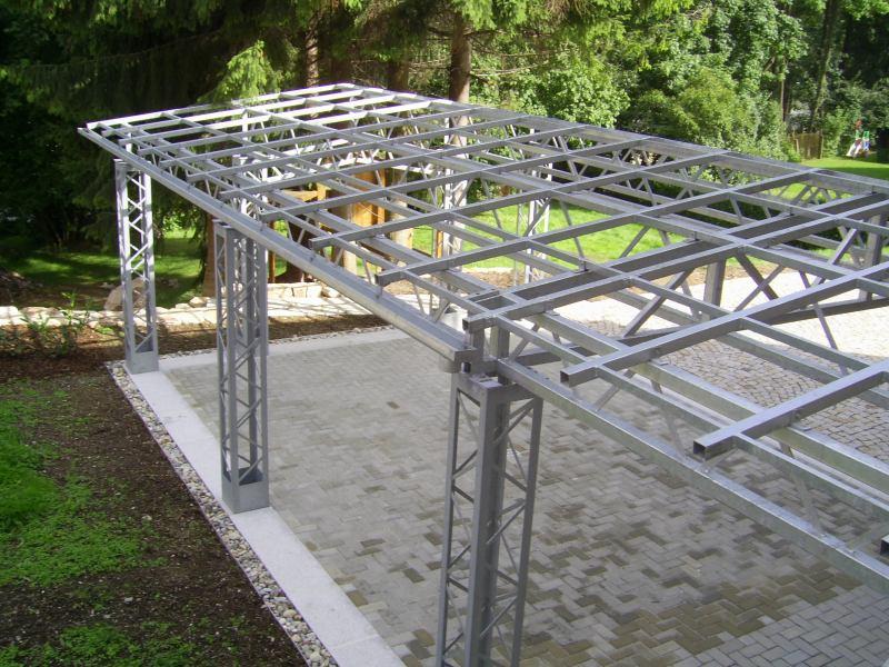 Carport in Stahlbauweise