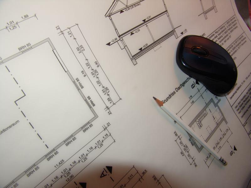 Ausschnitt einer Zeichnung mit Maus