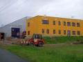 moderne Industriebauten