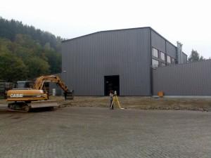 Industriehallen-Erweiterung